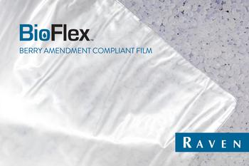 Raven Develops BioFlex™ I-Series Film for Medical Isolation Gowns: https://mms.businesswire.com/media/20200812005659/en/812319/5/RAVEN_BioFlex_Isolation_Gown_Film.jpg