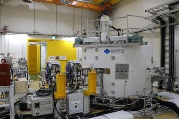 Sumitomo Heavy Industries Succeeds in Developing a Superconducting Cyclotron for Proton Therapy: https://mms.businesswire.com/media/20211024005051/en/919162/5/A_view_of_the_beam_acceleration_test_of_the_superconducting_cyclotron%29.jpg
