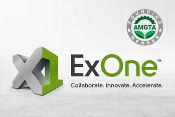 CORRECTING and REPLACING ExOne Joins the Additive Manufacturer Green Trade Association as a Founding Member: https://mms.businesswire.com/media/20210121005842/en/853801/5/AMGTA_ExOne_Logos-01_%281%29.jpg