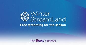 "The Roku Channel Makes it Easy to Watch Free and Unlocked Entertainment and Debuts iHeartRadio Holiday Music Channels for ""Winter StreamLand"": https://mms.businesswire.com/media/20201207005260/en/844572/5/Winter_StreamLand_Social_1200x628.jpg"